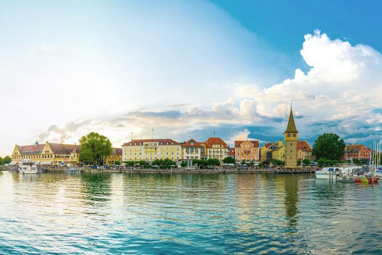 Skyline von Konstanz