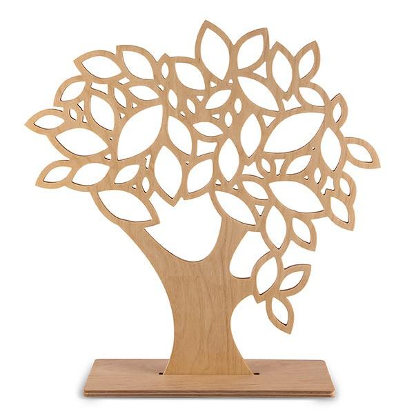 Großer Liebesschloss-Baum aus Holz