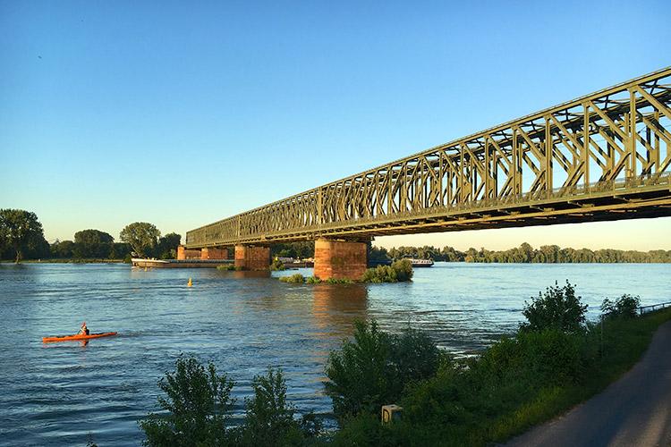 Südbrücke von Mainz