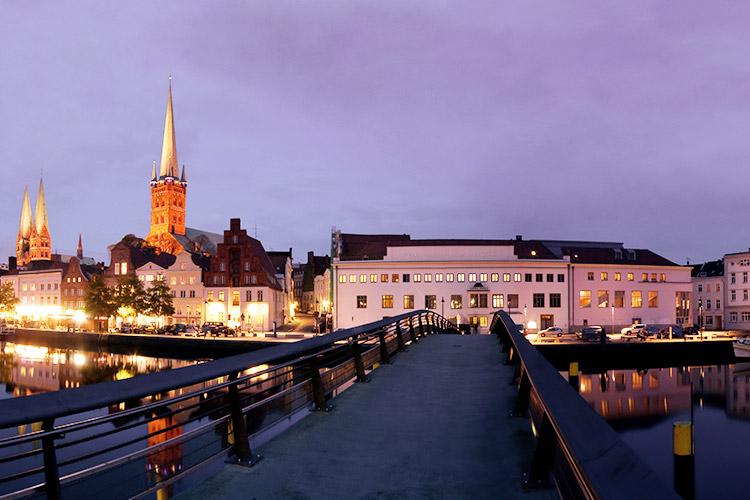 Liebessbrücke in Lübeck